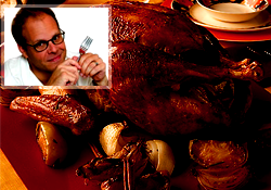 Alton Brown's Good Eats Roast Turkey (©Scripps Networks, LLC)